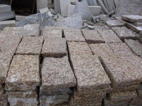 Камень может использоваться для укладки и в таком виде