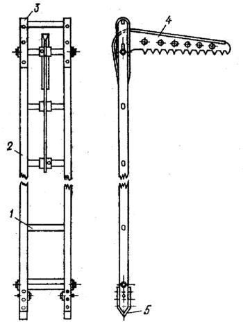 Лестница-штурмовка – самая лёгкая