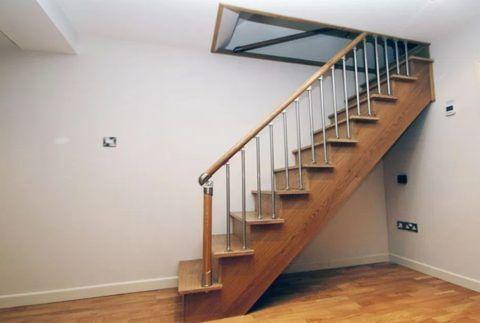 Лестницы для подвала могут быть очень солидными