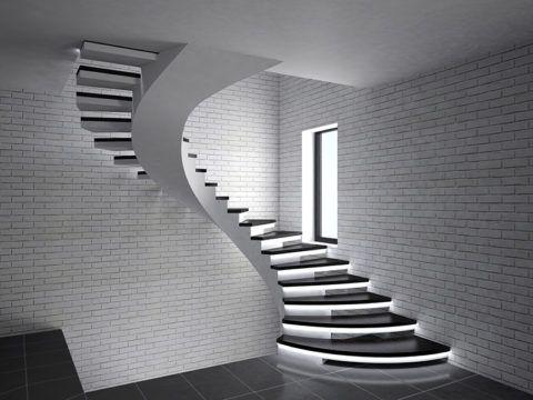Монолитные бетонные лестницы – удачный выбор конструкции межэтажного перехода