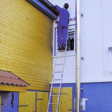 Немецкие лестницы KRAUSE отличаются надежностью и долговечностью