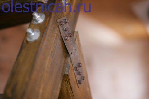 Особенно полезным мягкость пластин бывает, когда опорный брус шире несущего и образует ложемент