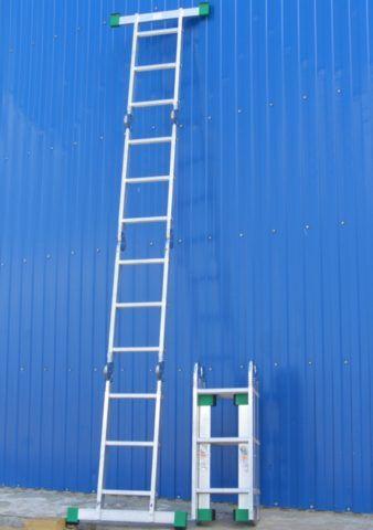 Получить максимальную высоту можно в приставном положении