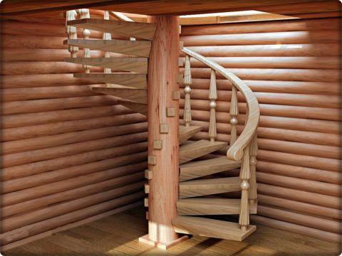При должном подходе обработка защитными составами может придать готовому изделию и своеобразный тонирующий эффект, выигрышно акцентирующий лестницу в общем поле интерьера