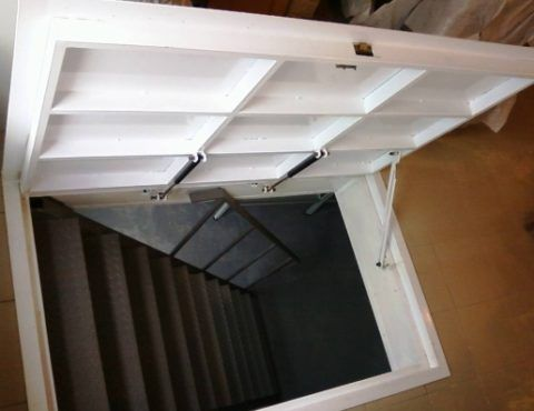 Продаются готовые люки лестницы в подвал