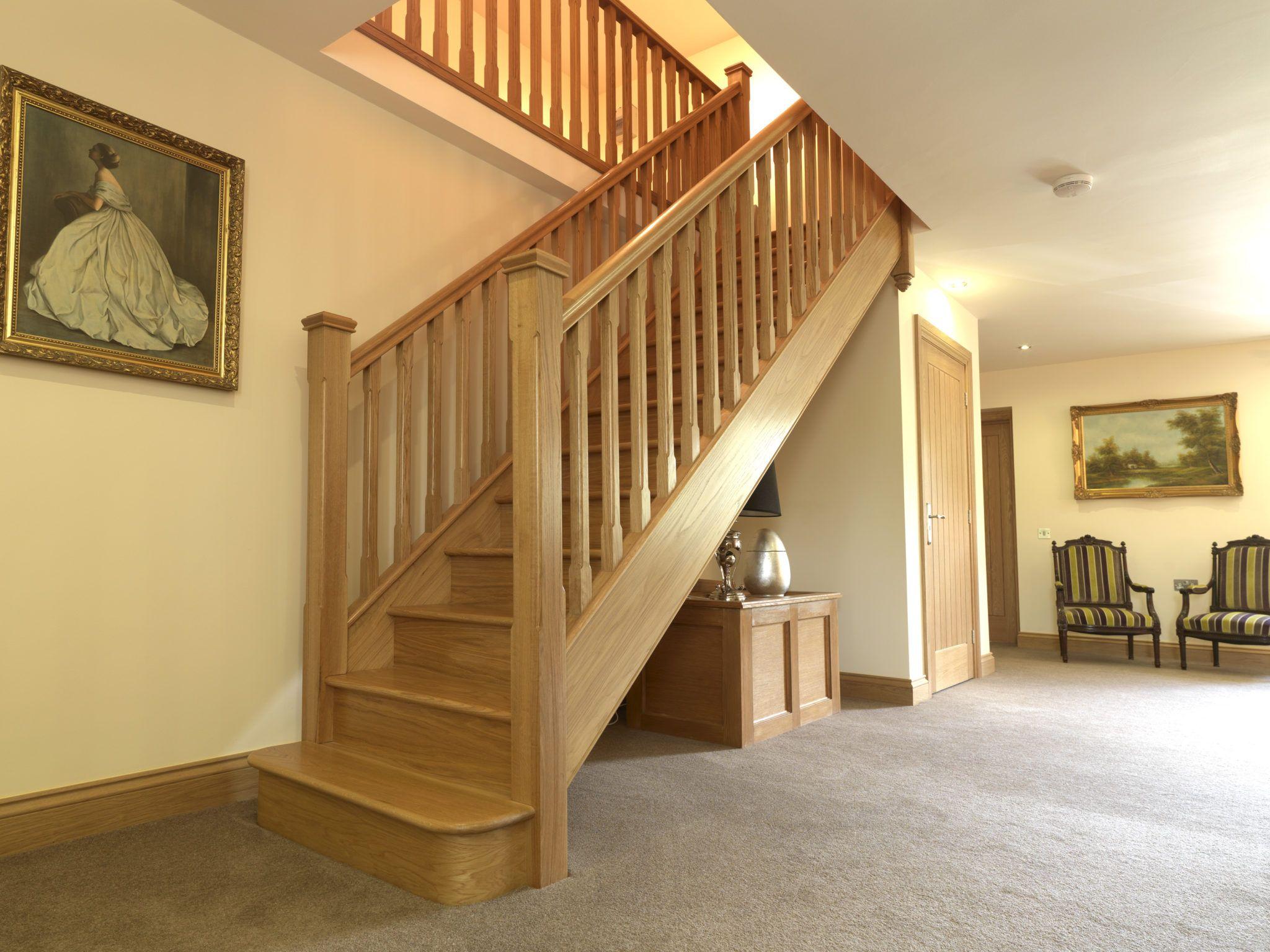 одномаршевые лестницы на второй этаж фото то, что