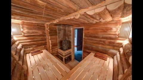 Русская баня – это дерево, дерево и еще раз дерево