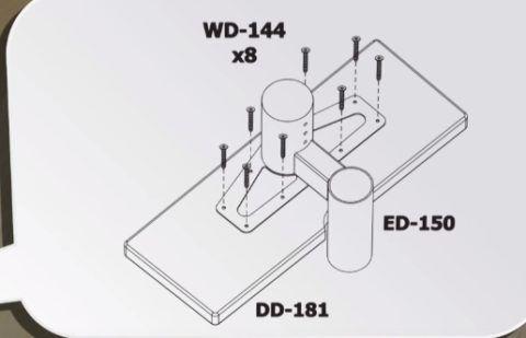 Схема сборки элемента