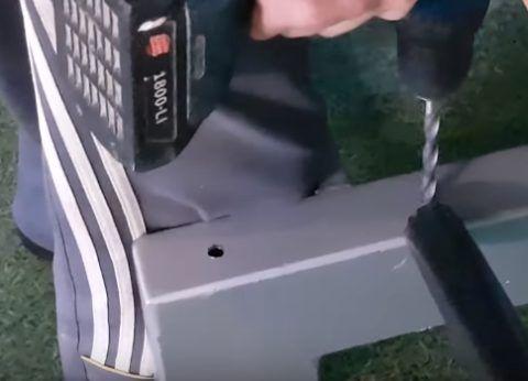 Сверление отверстий