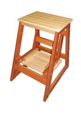 Табурет-лестница деревянная