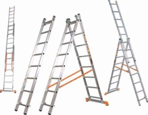 Трехсекционная конструкция имеет три варианта установки