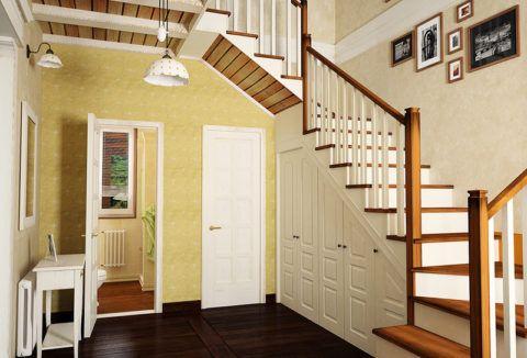 Устройство лестницы на второй этаж