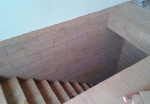Вход в подвал с террасы