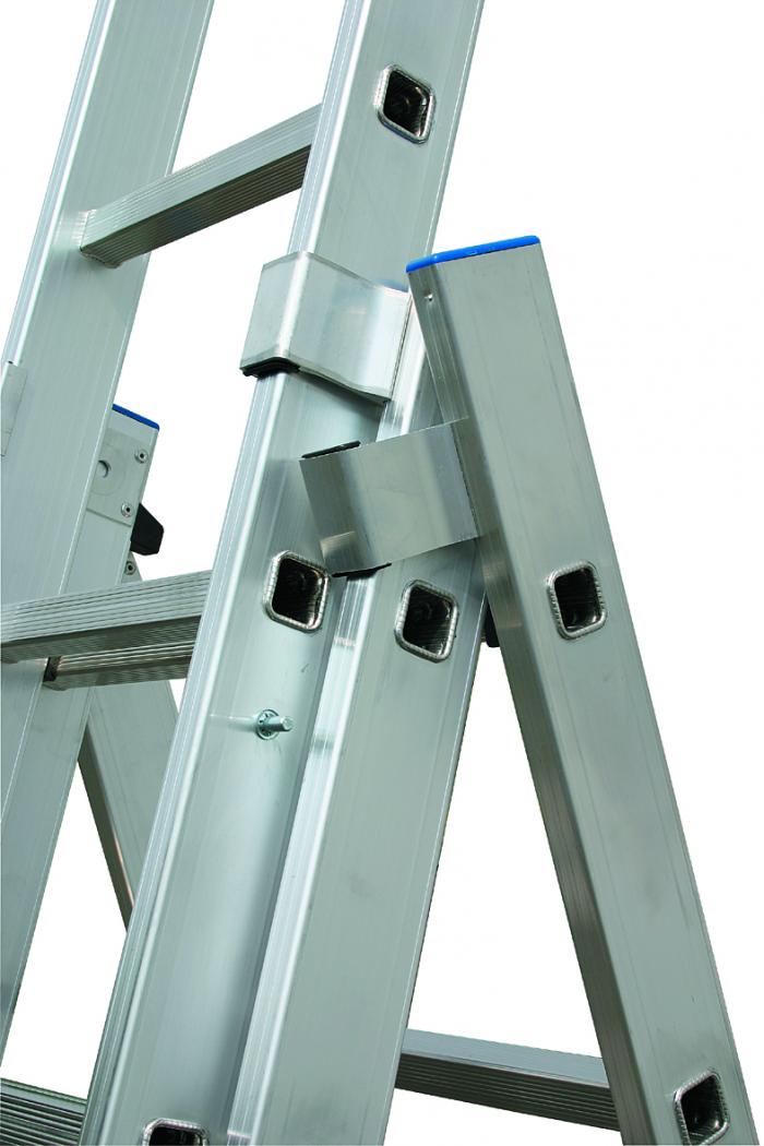 Лестницы 3 х секционные металлические