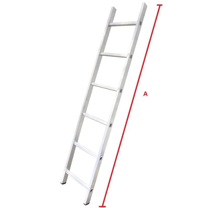 А – общая длина лестницы
