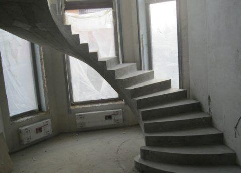 Из бетона можно создавать очень сложные элементы