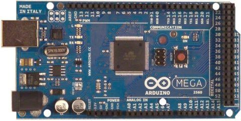 Контроллер Arduino Mega 2560 имеет 15 выходов, что достаточно для большинства лестниц