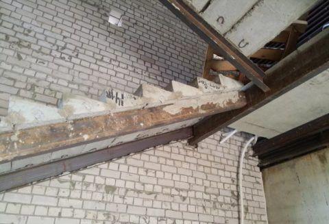 Лестница из готовых наборных элементов