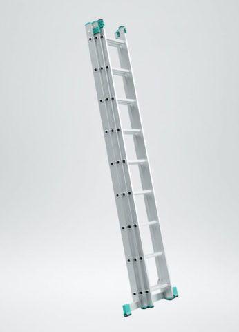 Лестница трехсекционная 3х9 в собранном виде
