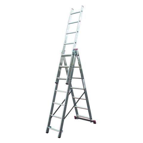 Лестница трехсекционная Krause 3х7