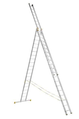 Лестницы 3 секционные профессиональные (3х20)