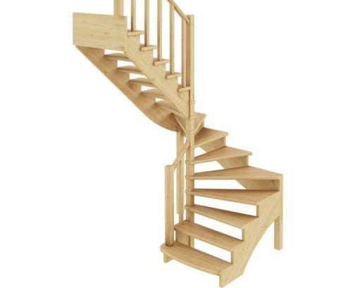 Лестницы междуэтажные из дерева обходятся дешевле всего