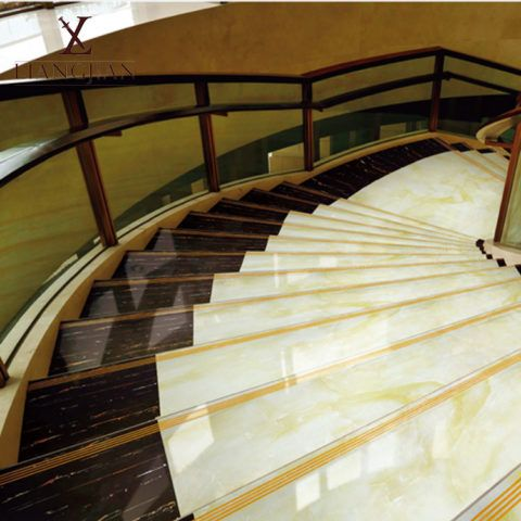 Лестницы: монолитный керамогранит