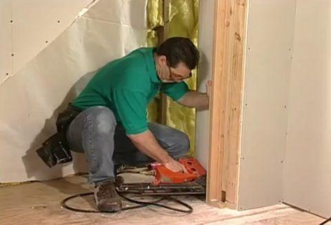 Лестницы с ящиками: работаем с нишей