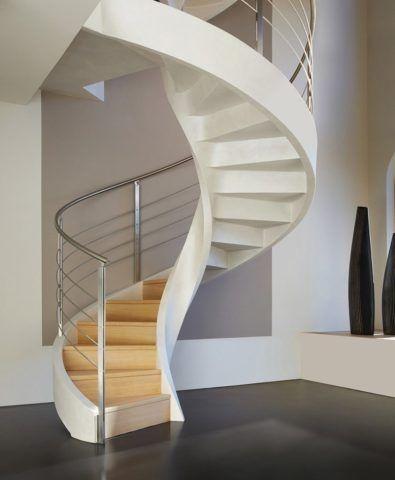 Маленькие лестницы для дома позволяют экономить свободное пространство