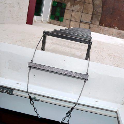 навесная спасательная лестница усл «шанс» усл 6