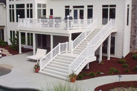 Оформление парадного входа в дом