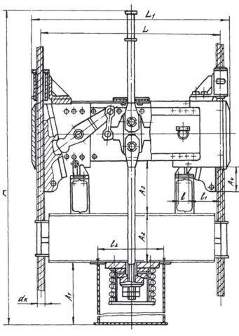 Принципиальная схема тормозных парашютов давно отработана на аналогичных по назначению системах шахтных клетей в горной промышленности