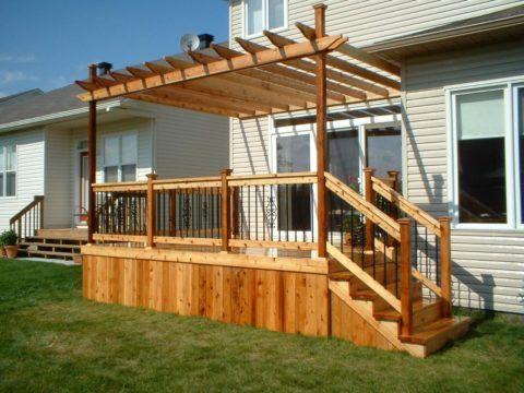Современная деревянная конструкция