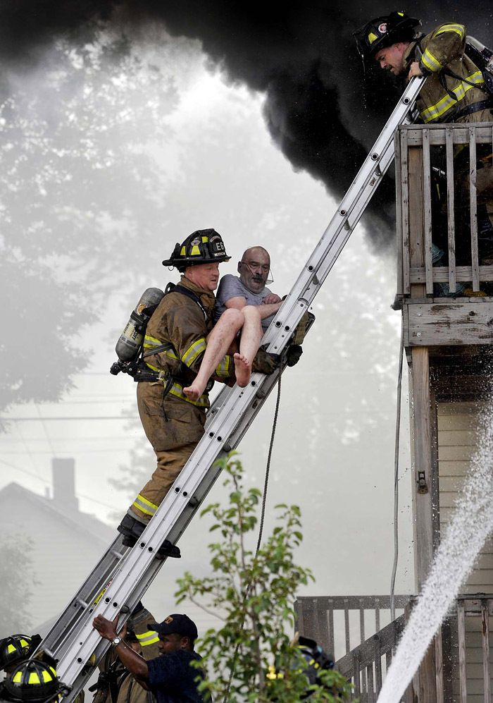 раз картинка спасение на пожар кондиционера