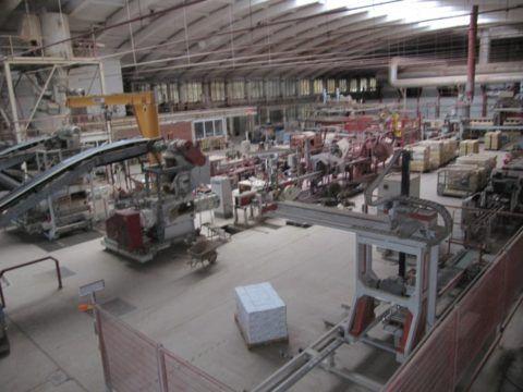 Цех по производству клинкерной плитки