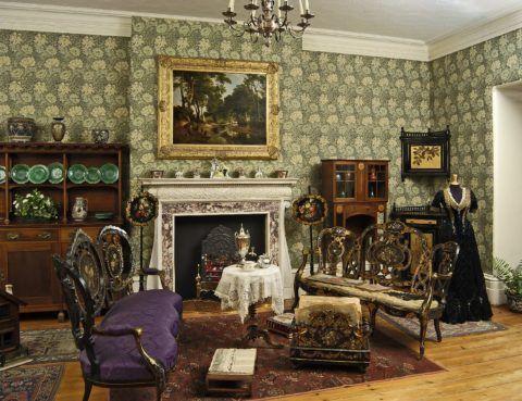 Викторианский интерьер хорошо известен нашему соотечественнику по легендарным кинокартинам о приключениях Шерлока Холмса и доктора Ватсона