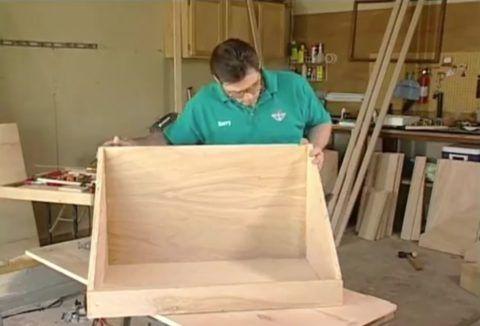 Ящик нестандартной формы