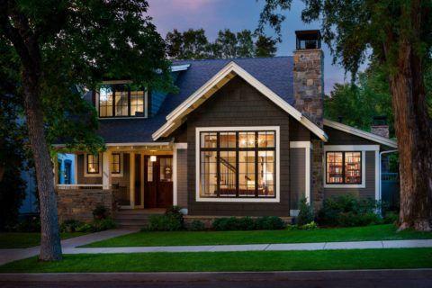 Большая площадь остекления типичных домов на фермерском Юге вполне обыденное дело, благо, климат позволяет