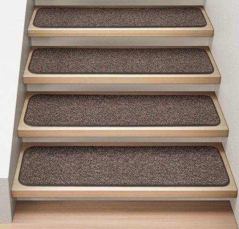 Коврики для деревянных лестниц на самоклеящейся основе