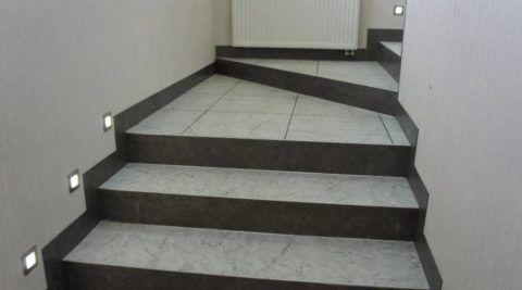 Лестницы, облицованные плиткой