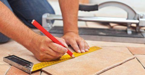 Облицовка ступеней крыльца плиткой: подступенки в среднем равняются 12-18 сантиметрам