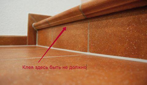 Особенности укладки плитки с капиносами