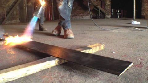 Применение газовой горелки, быстрый и эффективный способ качественного обжига