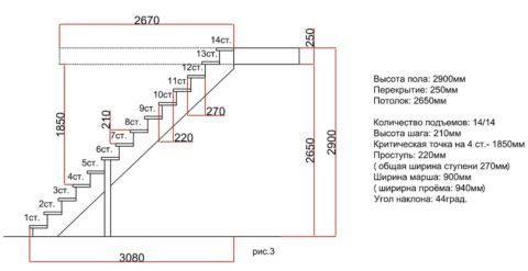 Детальный чертеж всей конструкции и каждого элемента в отдельности поможет в дальнейшей работе