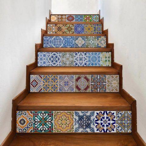 Керамическая плитка для лестниц