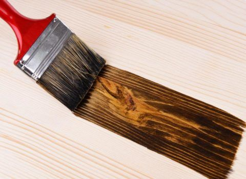 Морилка проявляет текстуру древесины