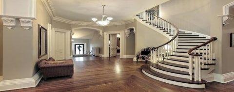 Надежная монолитная лестница - идеальное решение для частного коттеджа