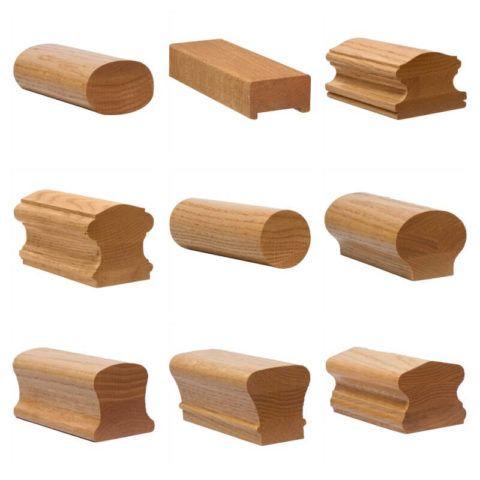 Придание профиля деревянным поручням