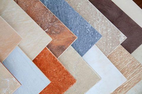 Различные поверхности керамогранитной плитки