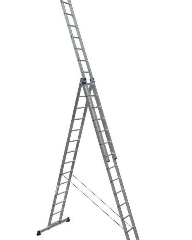 Лестницы раздвижные Алюмет 3х14